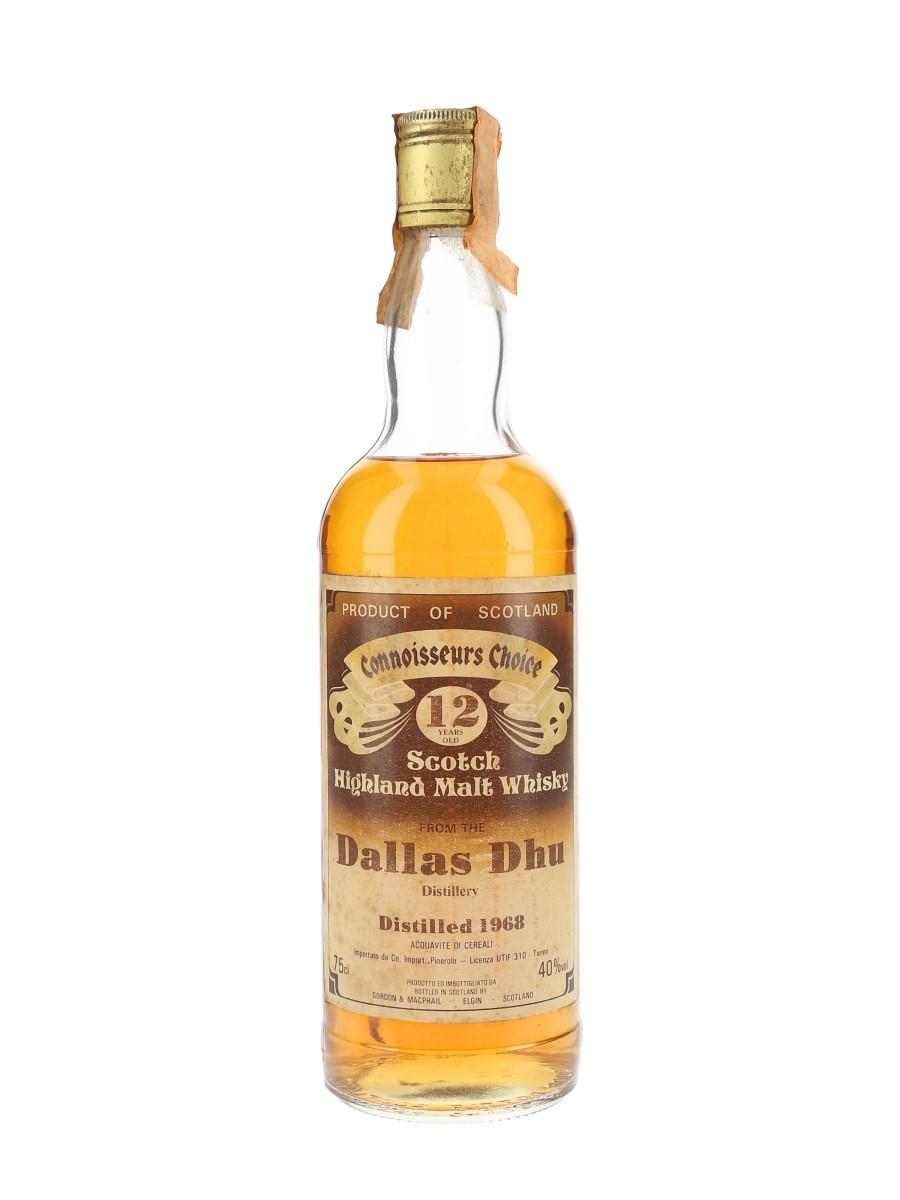 Dallas Dhu 1968 12 Year Old Gordon & MacPhail - Connoisseurs Choice 75cl / 40%