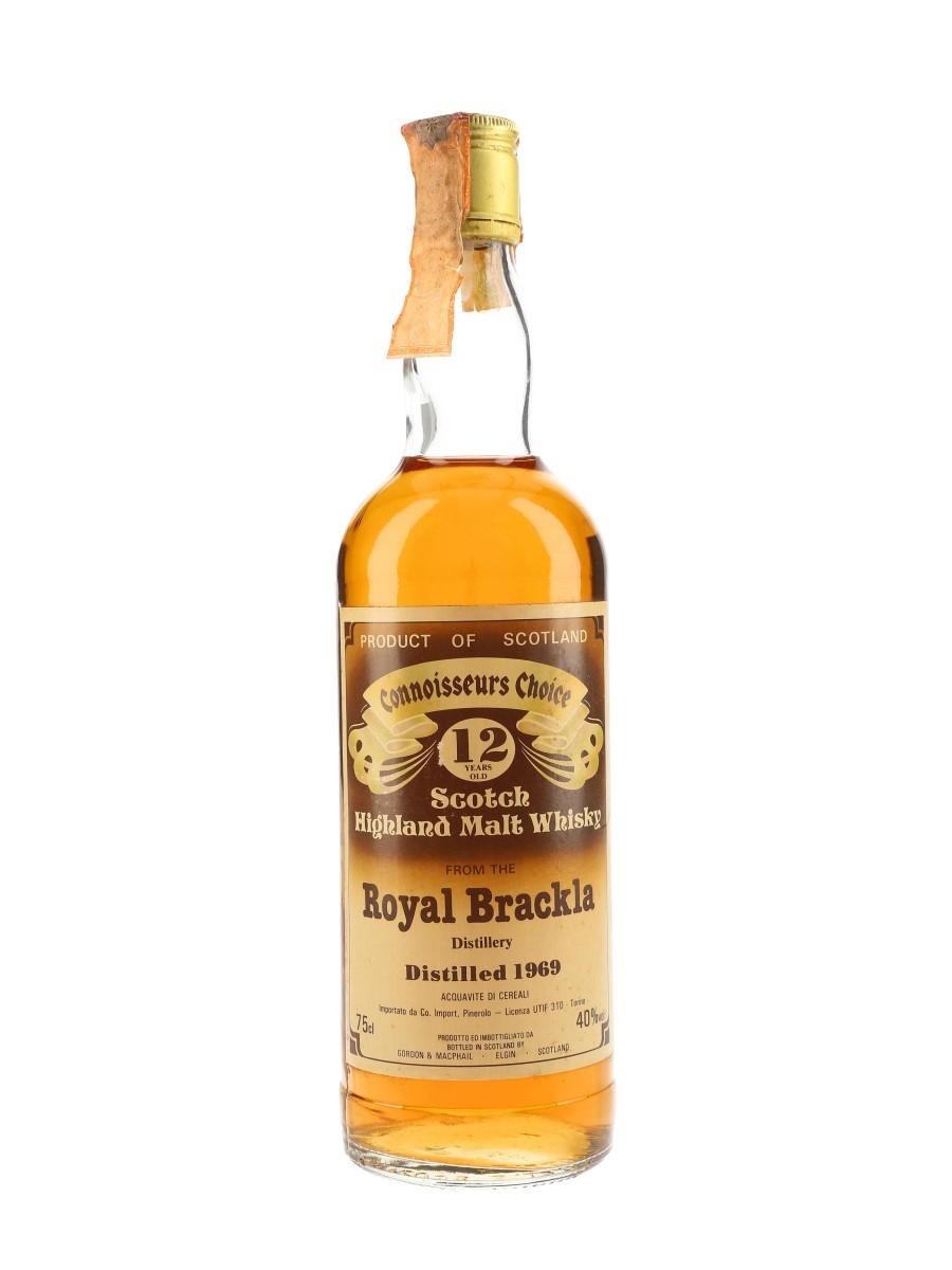 Royal Brackla 1969 12 Year Old Gordon & MacPhail - Connoisseurs Choice 75cl / 40%