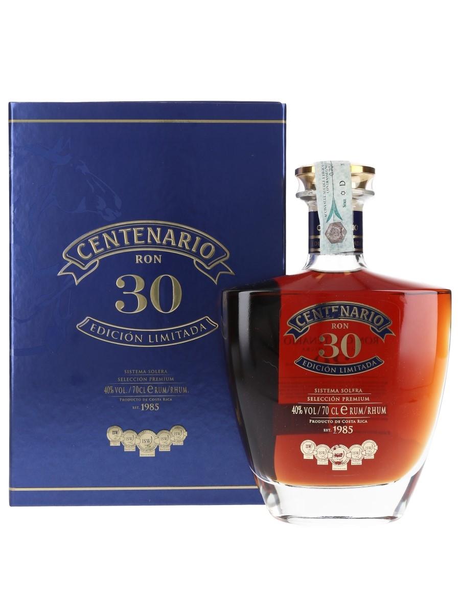 Ron Centenario 30 Sistema Solera Costa Rica 70cl / 40%