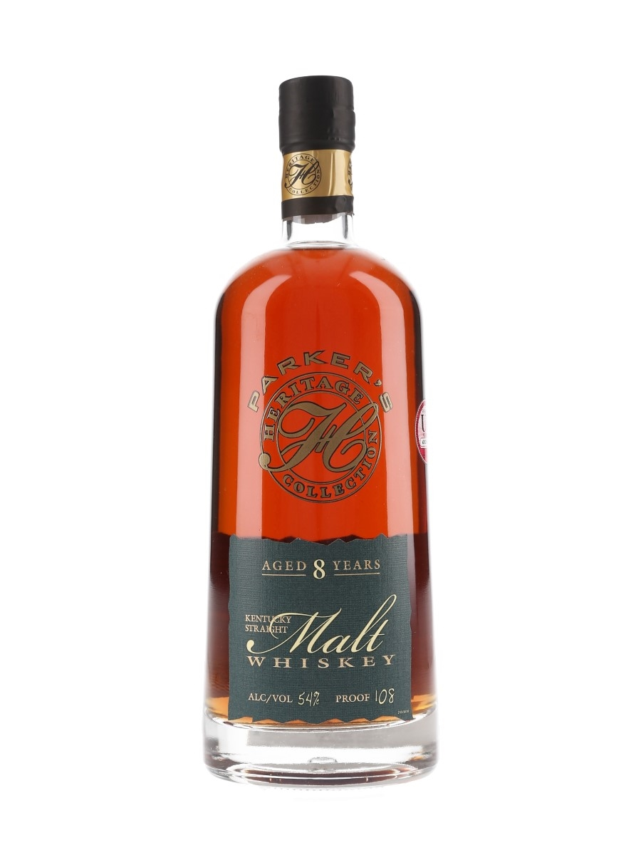 Parker's 8 Year Old Straight Malt Heritage Collection 2015 - 9th Edition 75cl / 54%