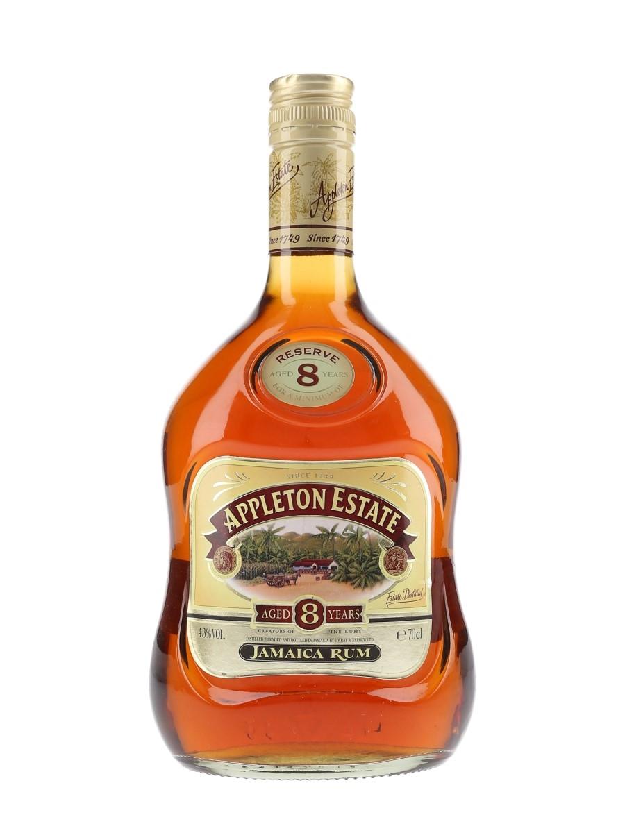 Appleton Estate 8 Year Old Reserve Wray & Nephew 70cl / 43%
