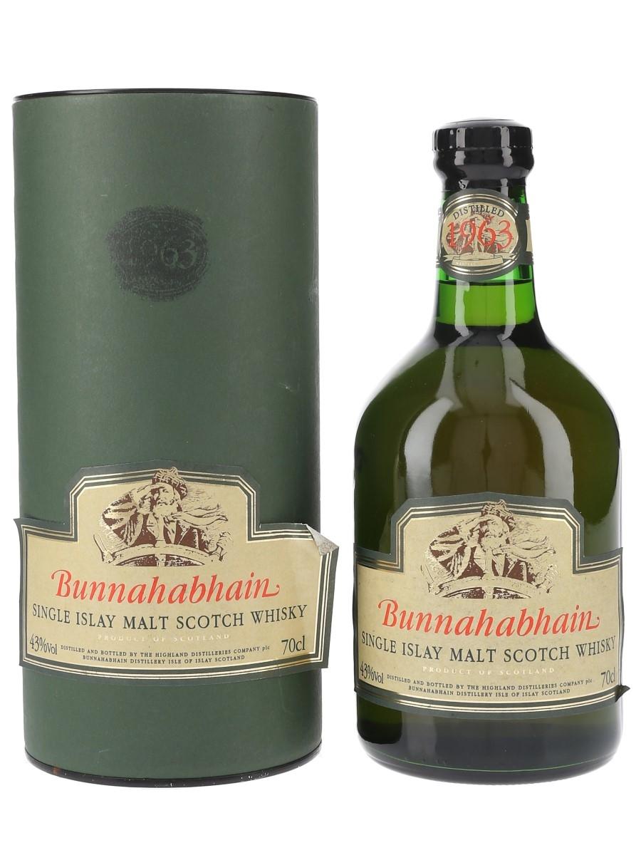 Bunnahabhain 1963  70cl / 43%