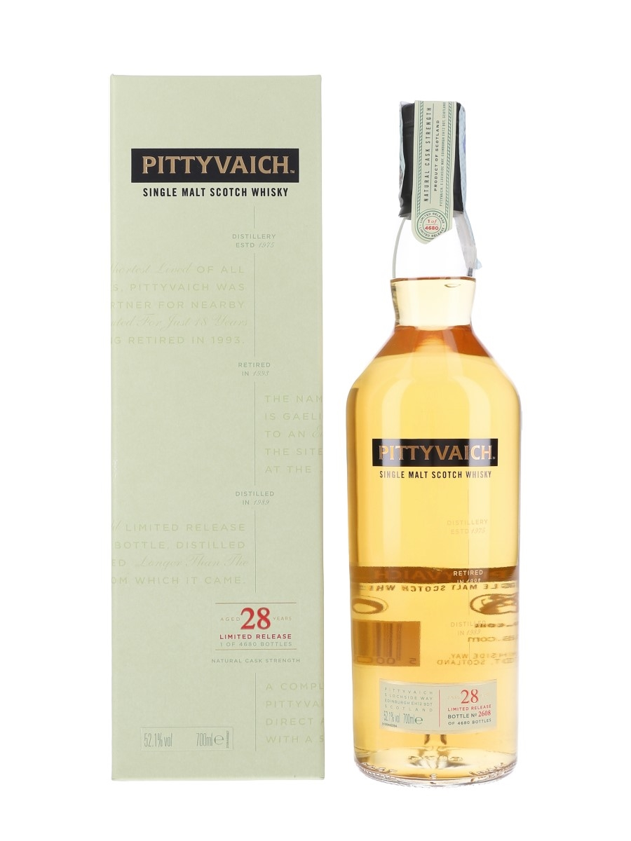 Pittyvaich 1989 28 Year Old Special Releases 2018 70cl / 52.1%