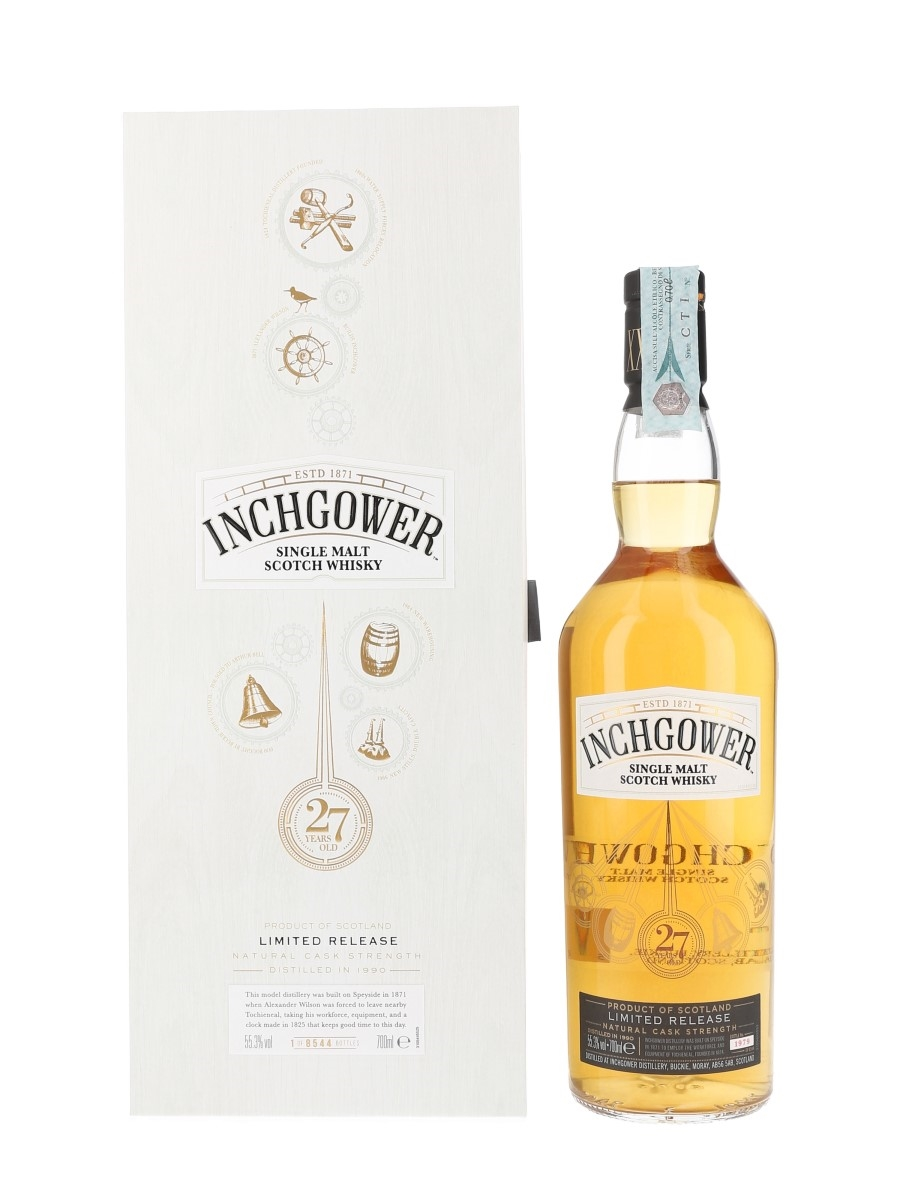 Inchgower 1990 27 Year Old Special Releases 2018 70cl / 55.3%