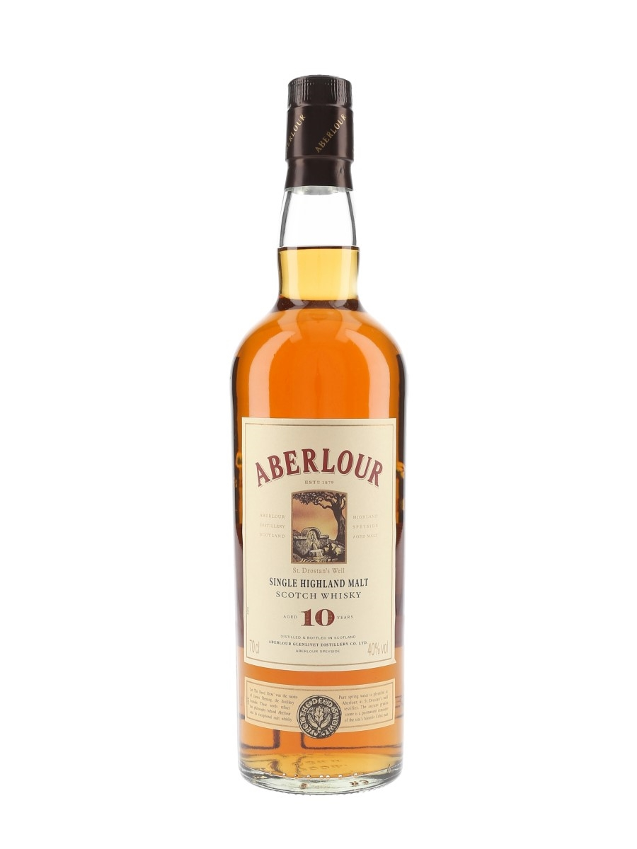 Aberlour 10 Year Old Bottled 1990s-2000s 70cl / 40%