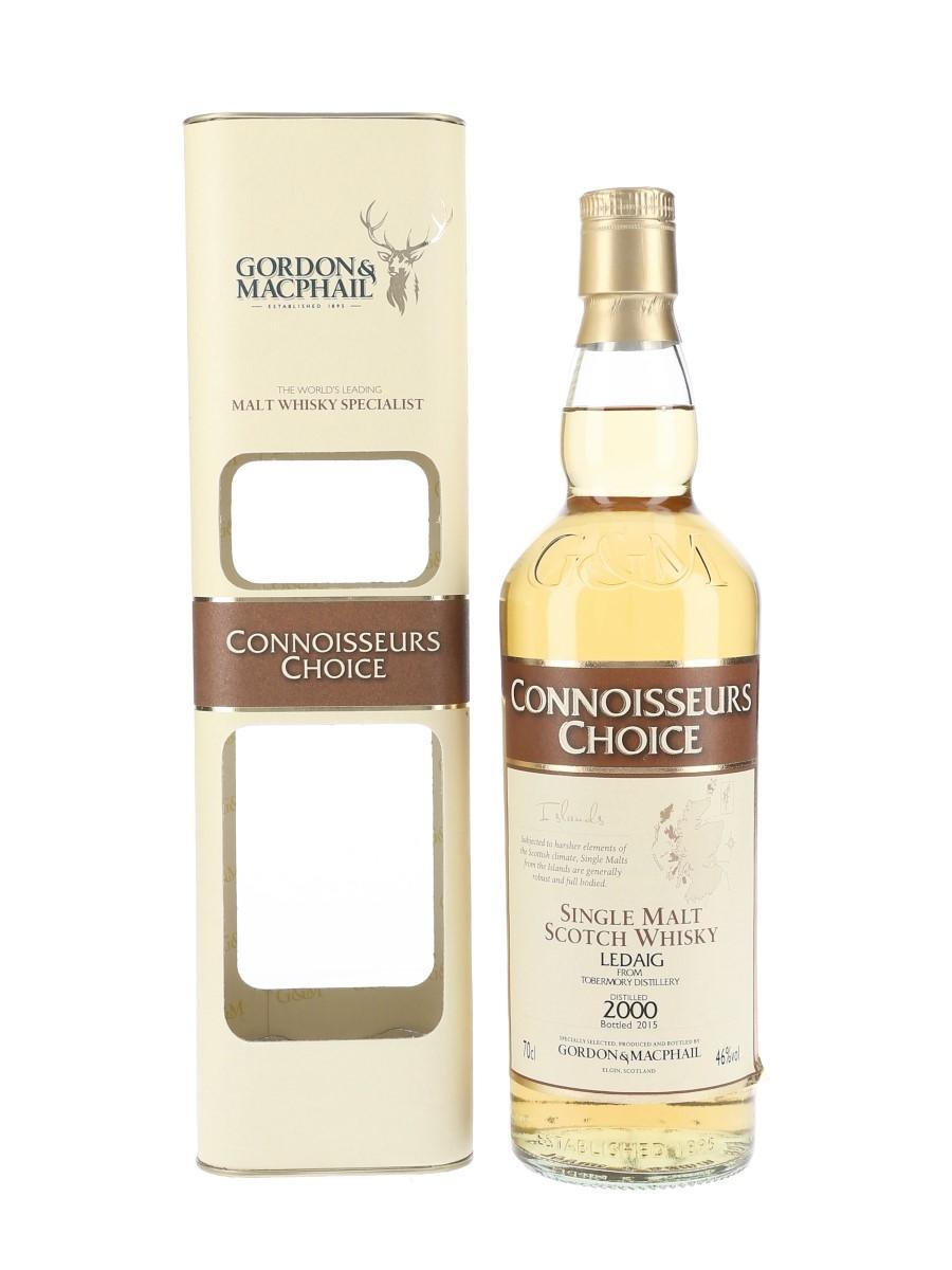 Ledaig 2000 Connoisseurs Choice Bottled 2015 - Gordon & MacPhail 70cl / 46%