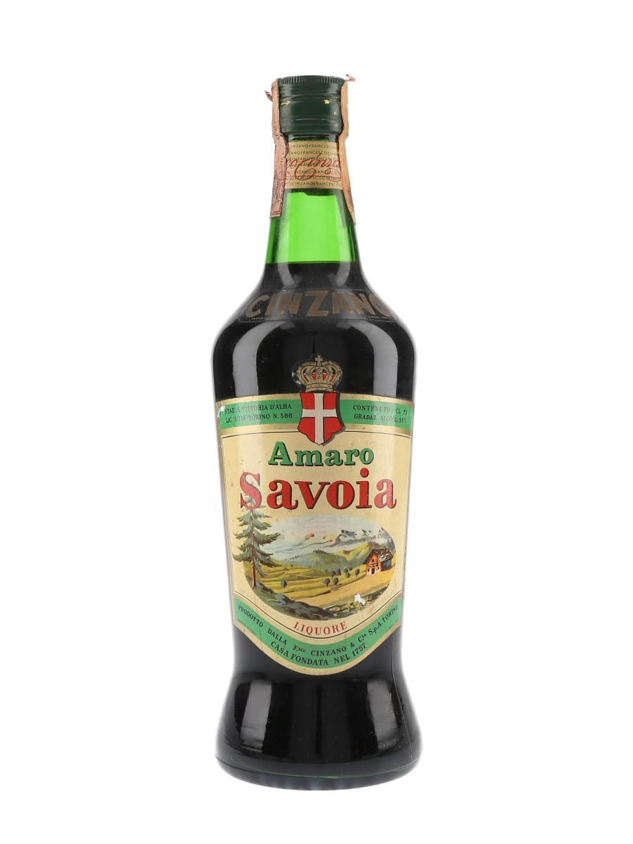 Cinzano Amaro Savoia Bottled 1960s 75cl / 34%