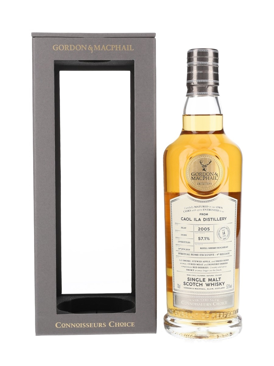 Caol Ila 2005 14 Year Old Connoisseurs Choice Bottled 2019 - Spiritual Home Exclusive, 4th Release 70cl / 57.1%