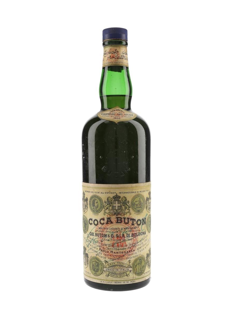 Buton Coca Bottled 1950s 75cl / 36.5%