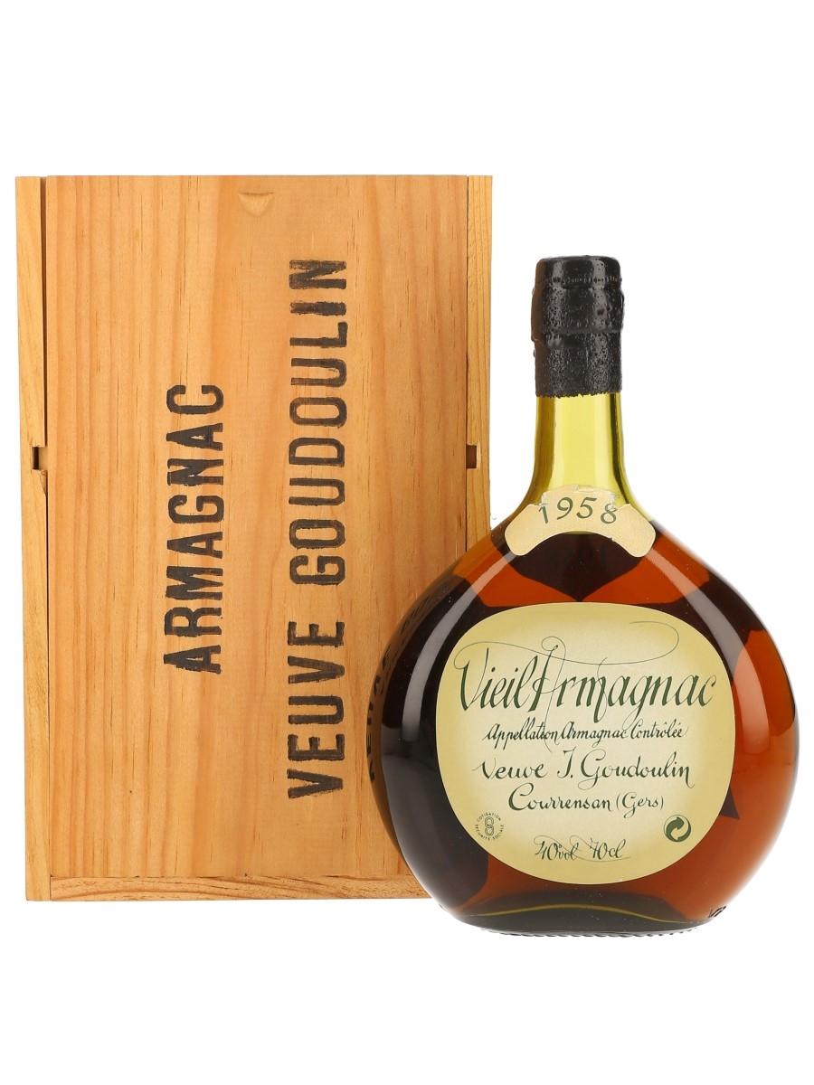 Veuve Goudoulin 1958 Vieil Armagnac  70cl / 40%