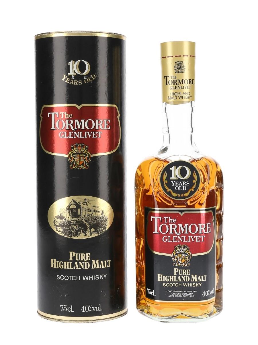 Tormore Glenlivet 10 Year Old Bottled 1980s 75cl / 40%