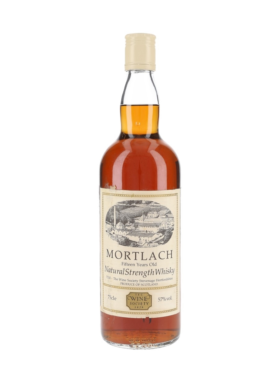 Mortlach 15 Year Old Bottled 1980s - The Wine Society 75cl / 57%