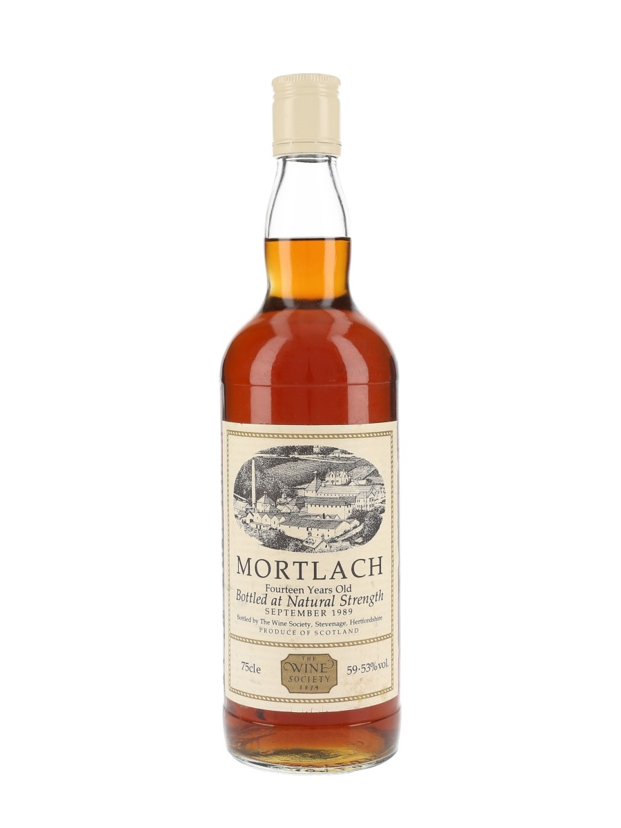 Mortlach 14 Year Old Bottled 1989 - The Wine Society 75cl / 59.53%