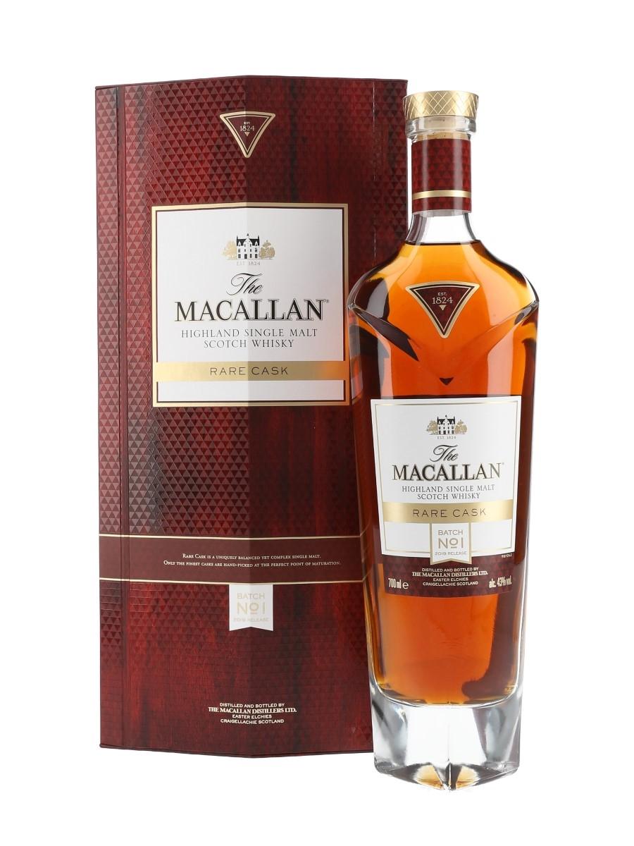 Macallan Rare Cask Batch No.1 2019 Release 70cl / 43%