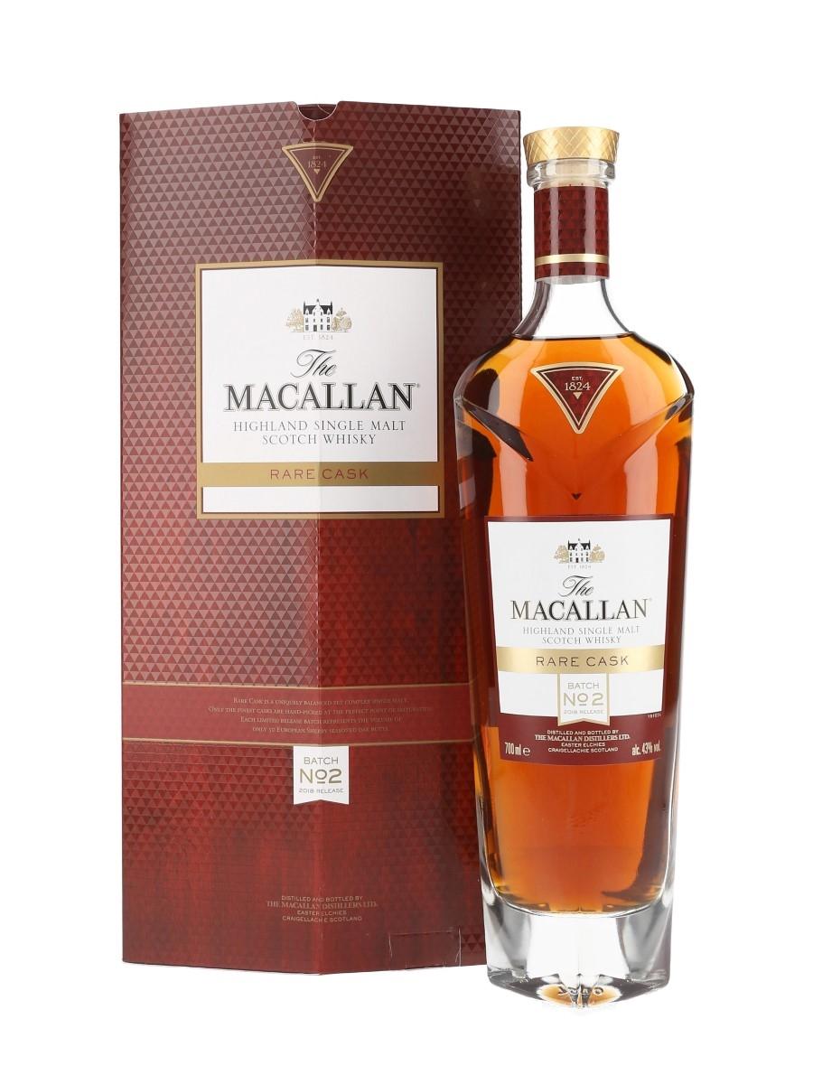Macallan Rare Cask Batch No.2 2018 Release 70cl / 43%