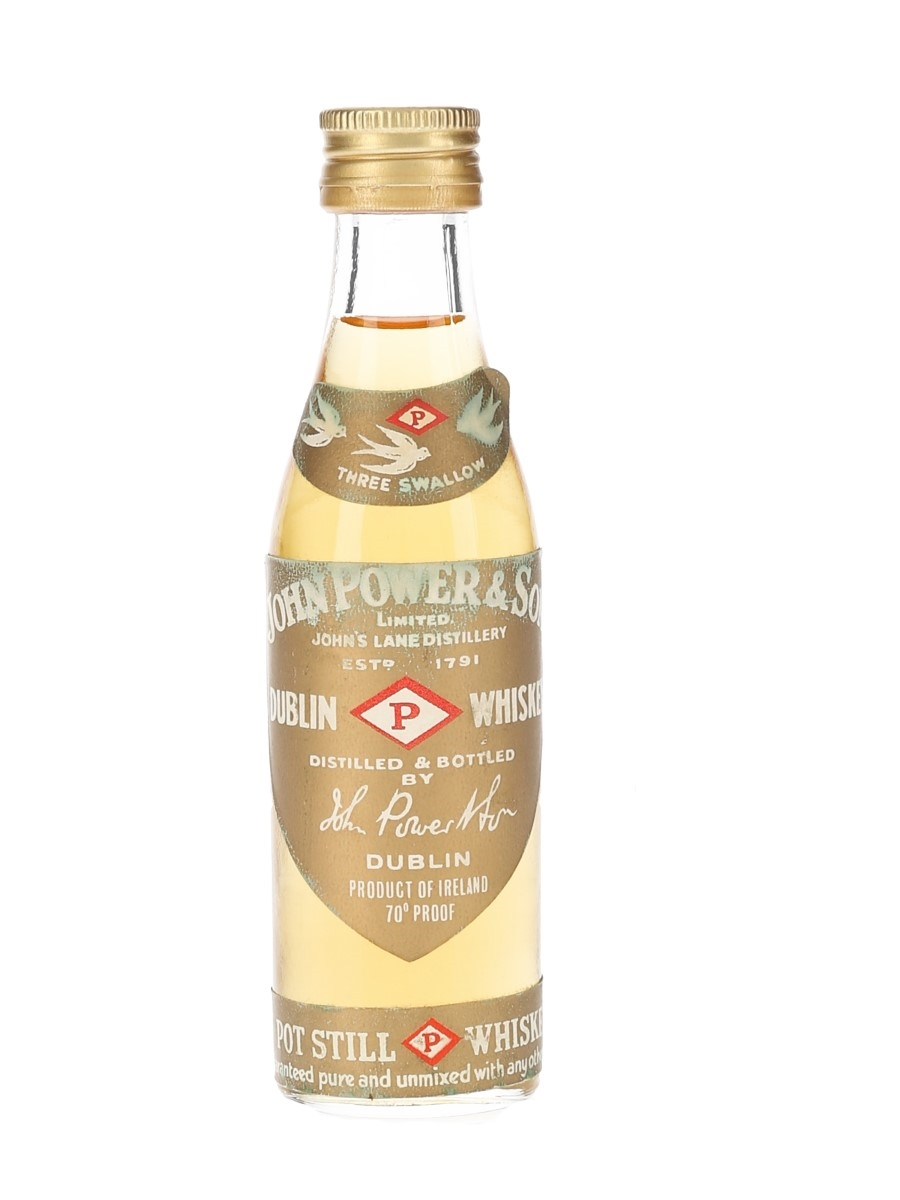 John Power & Son Gold Label Bottled 1960s 7cl / 40%