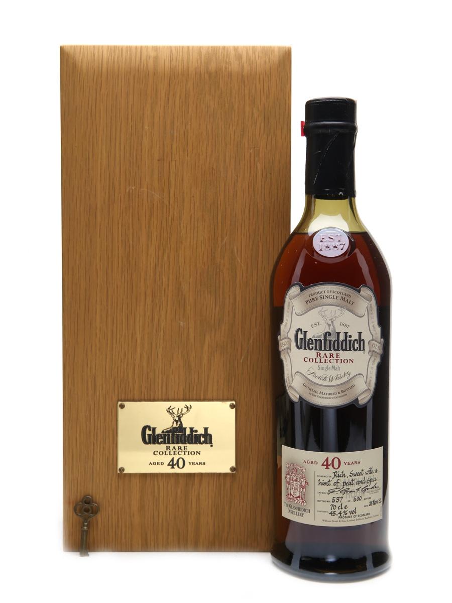 Glenfiddich 40 Years Old Bottled 2002 - 600 Bottles 70cl