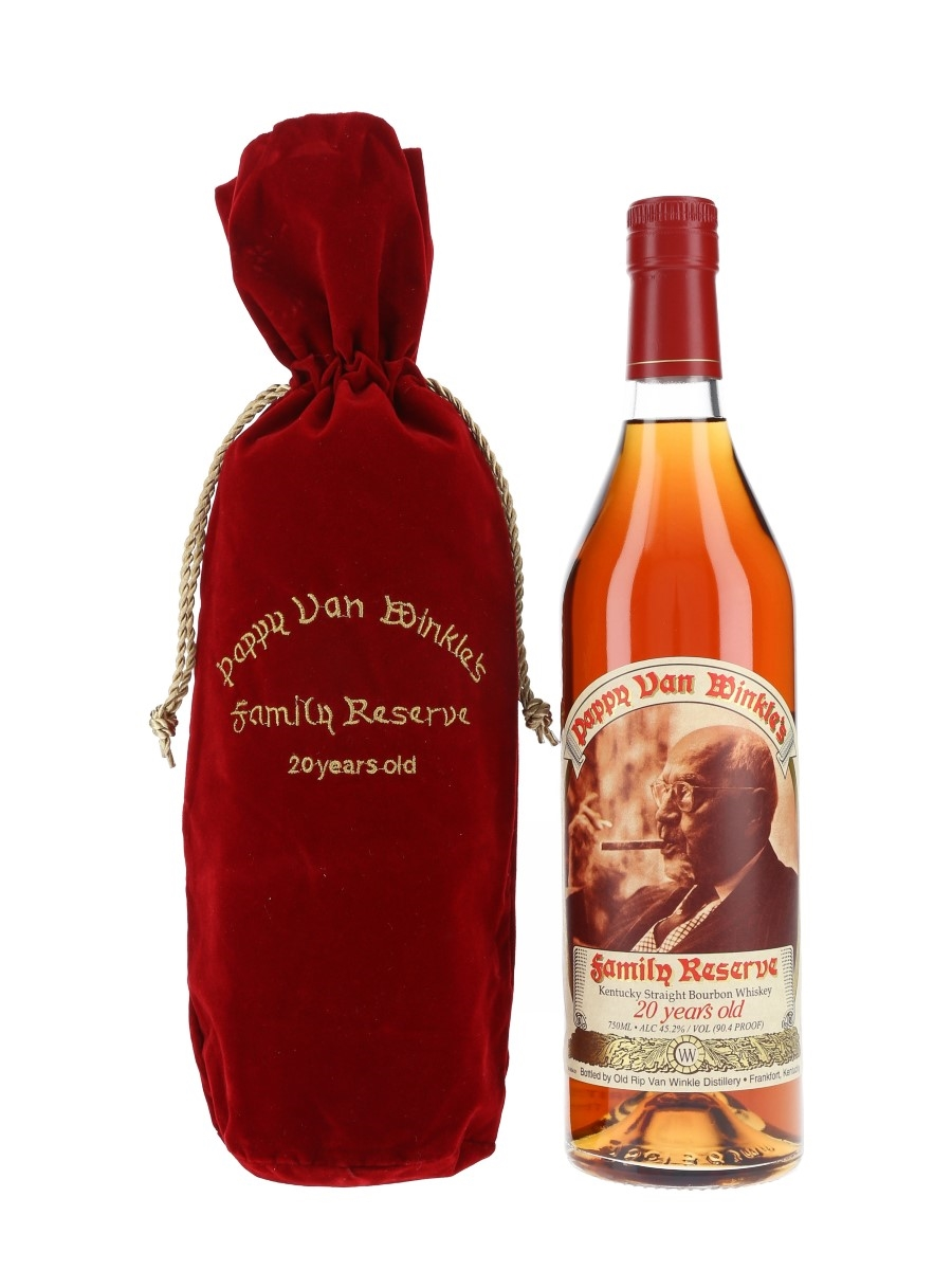 Pappy Van Winkle's 20 Year Old Family Reserve Bottled 2019 - Frankfort 75cl / 45.2%