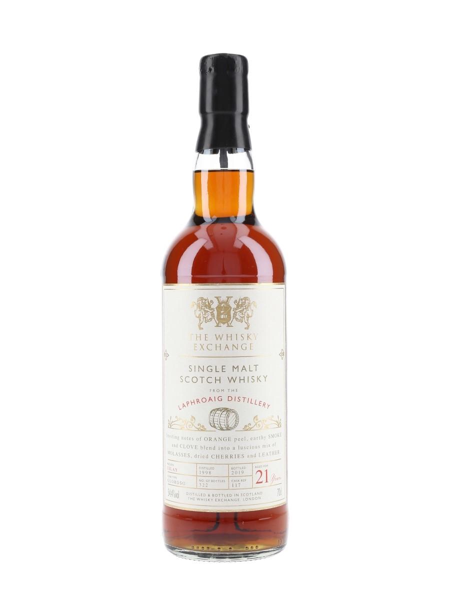 Laphroaig 1998 21 Year Old Bottled 2019 - The Whisky Exchange 70cl / 54.4%