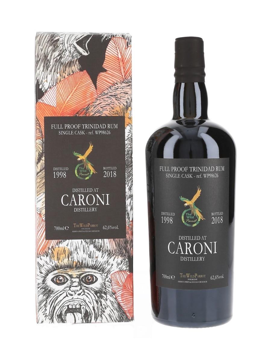 Caroni 1998 The Wild Parrot Single Cask WP98626 Bottled 2018 - Hidden Spirits 70cl / 62.6%
