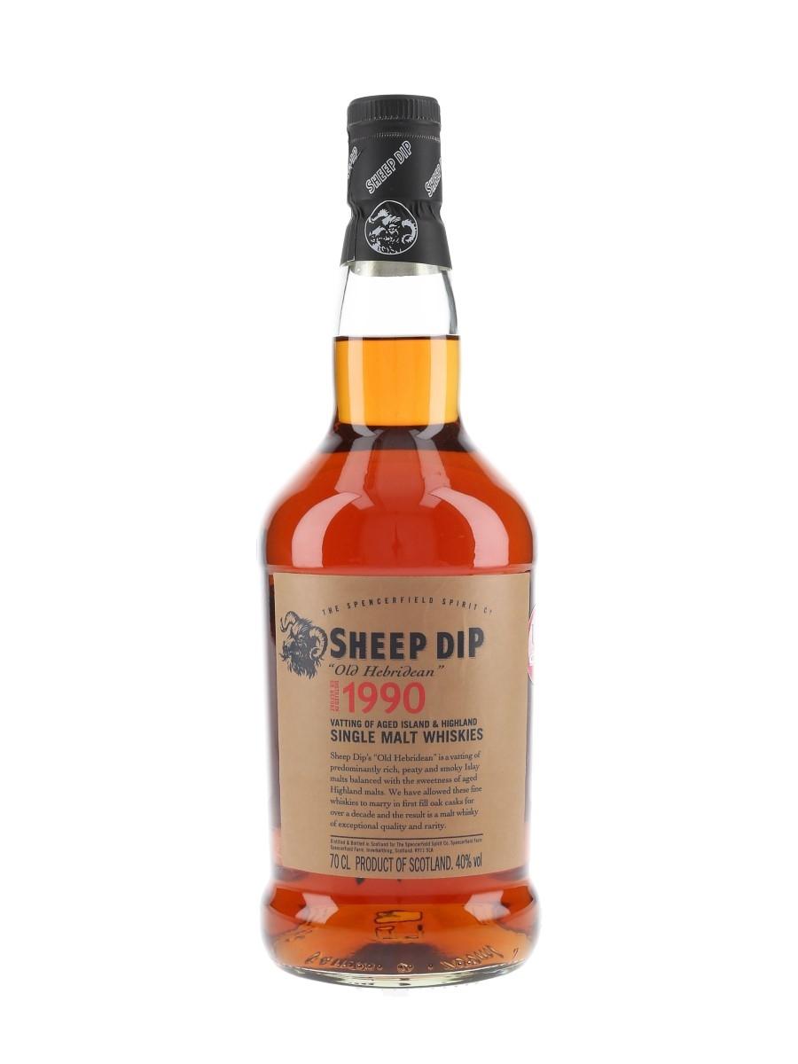 Sheep Dip Old Hebridean 1990  70cl / 40%