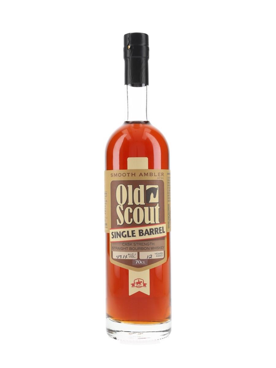 Smooth Ambler Old Scout 12 Year Old Bottled 2018 - Single Barrel 70cl / 47.1%