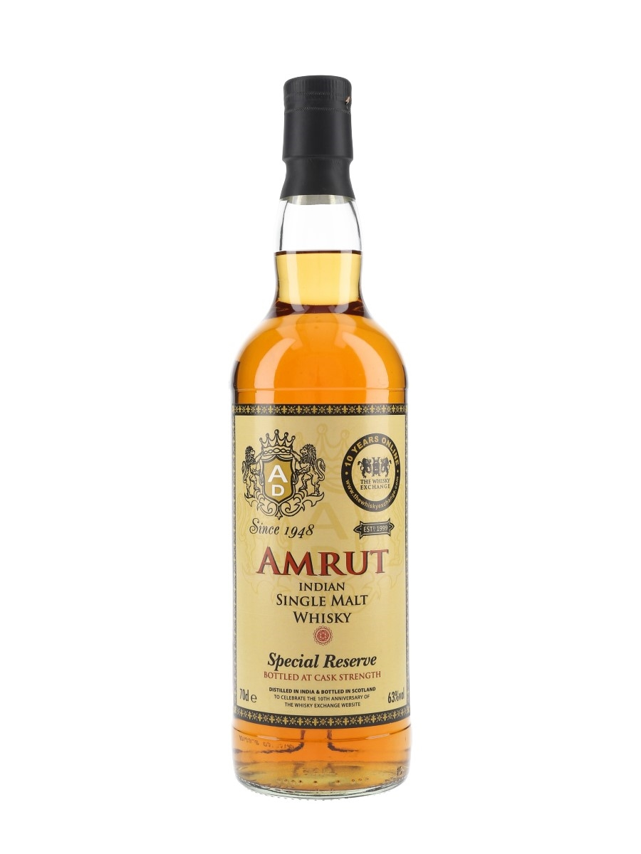 Amrut Special Reserve The Whisky Exchange 10th Anniversary 70cl / 63%