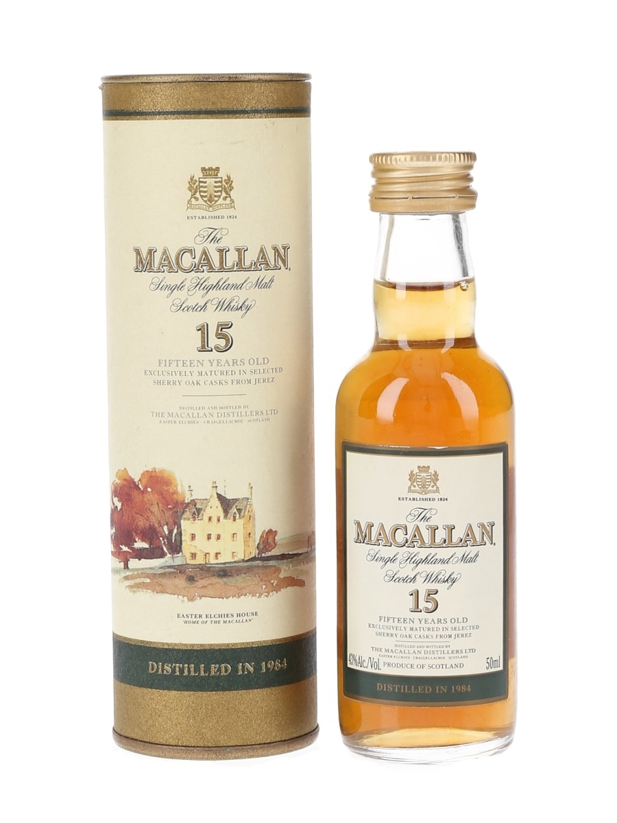 Macallan 1984 15 Year Old Remy Amerique 5cl / 43%