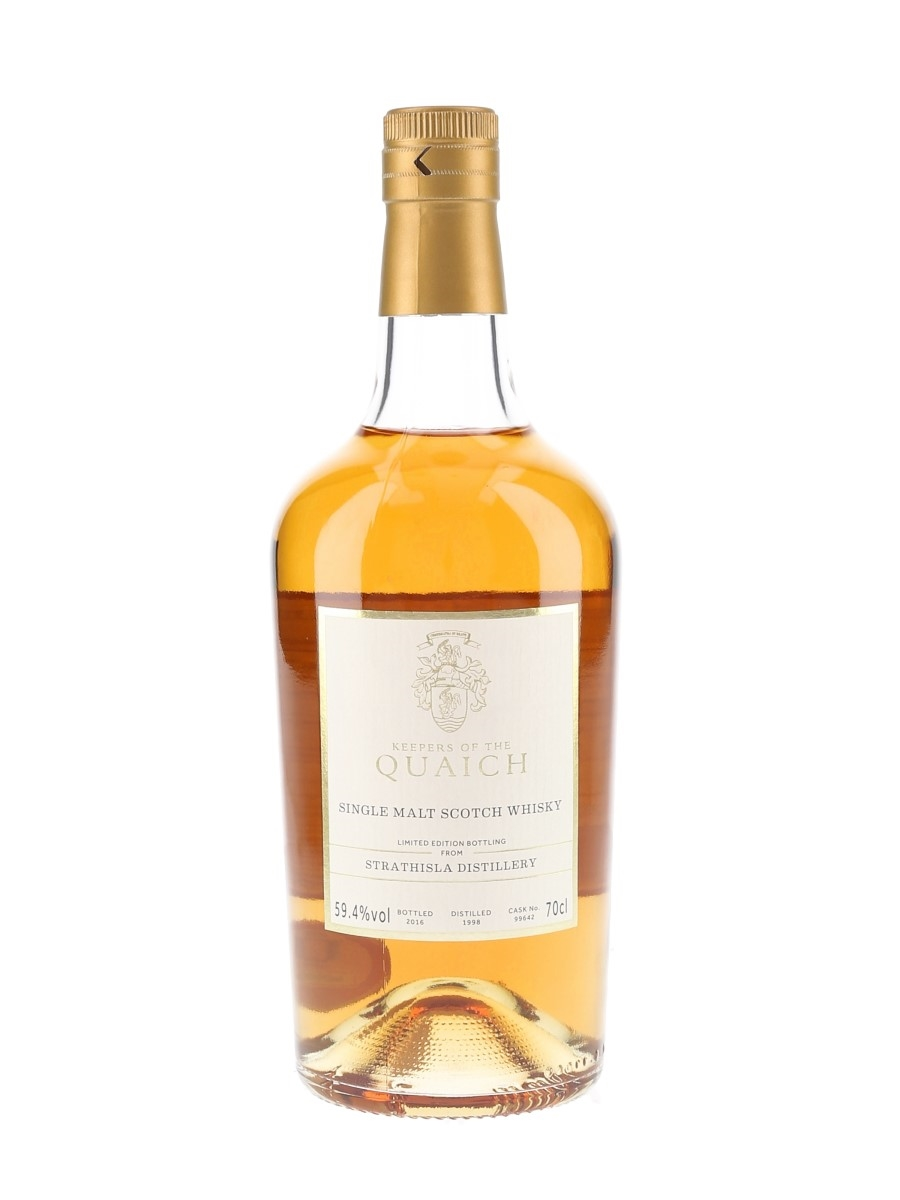 Strathisla 1998 Cask 99642 Bottled 2016 - The Keepers Of The Quaich 70cl / 59.4%