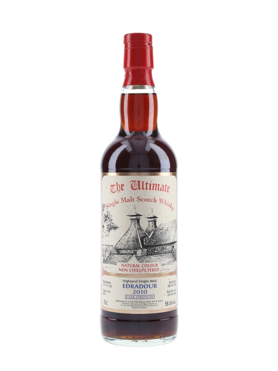 Edradour 2010 9 Year Old Cask 391 Bottled 2020 - The Ultimate 70cl / 58.6%