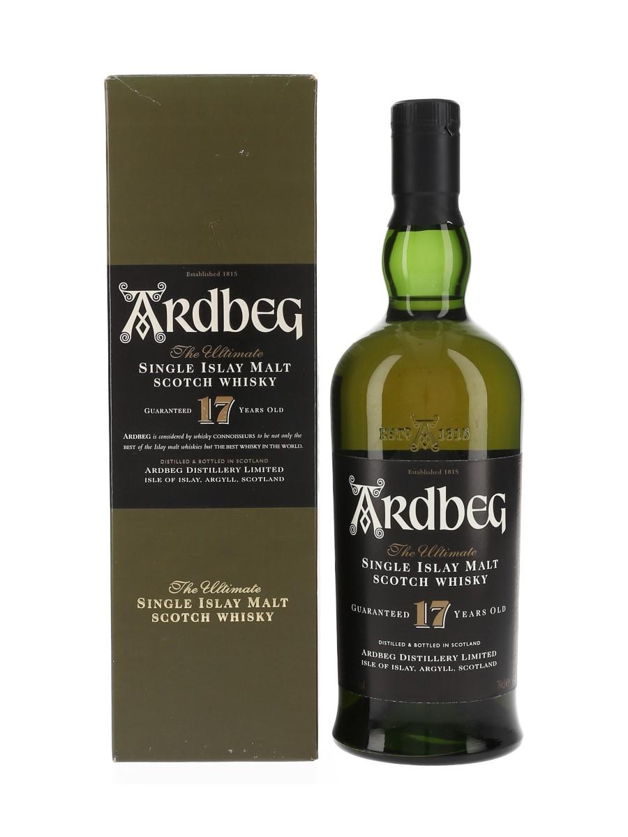 Ardbeg 17 Year Old Bottled 1999 70cl / 40%