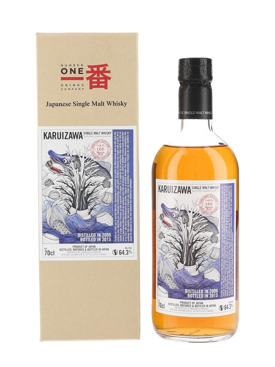 Karuizawa 2000 Cask #166 Bottled 2013 - La Maison Du Whisky 70cl / 64.3%