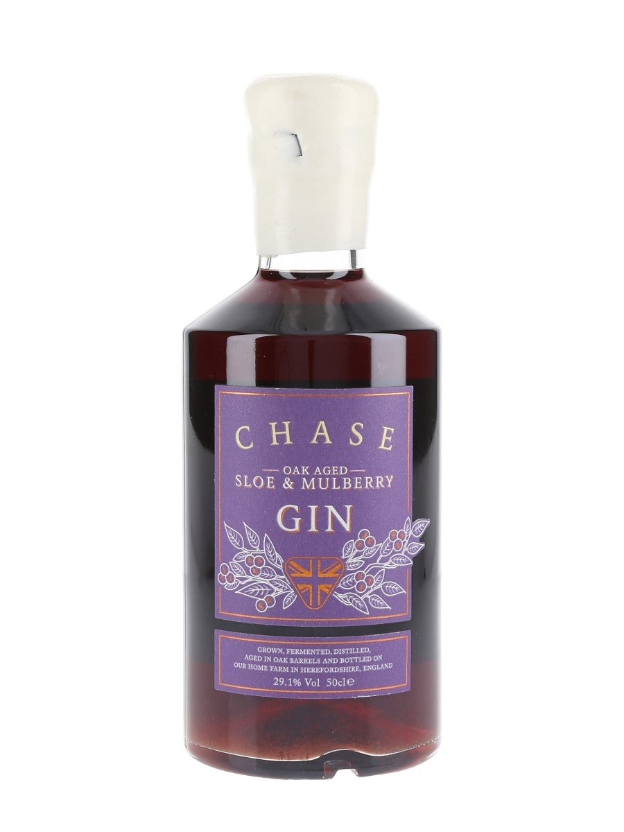 Williams Chase Oak Aged Sloe & Mulberry Gin  50cl / 29.1%%