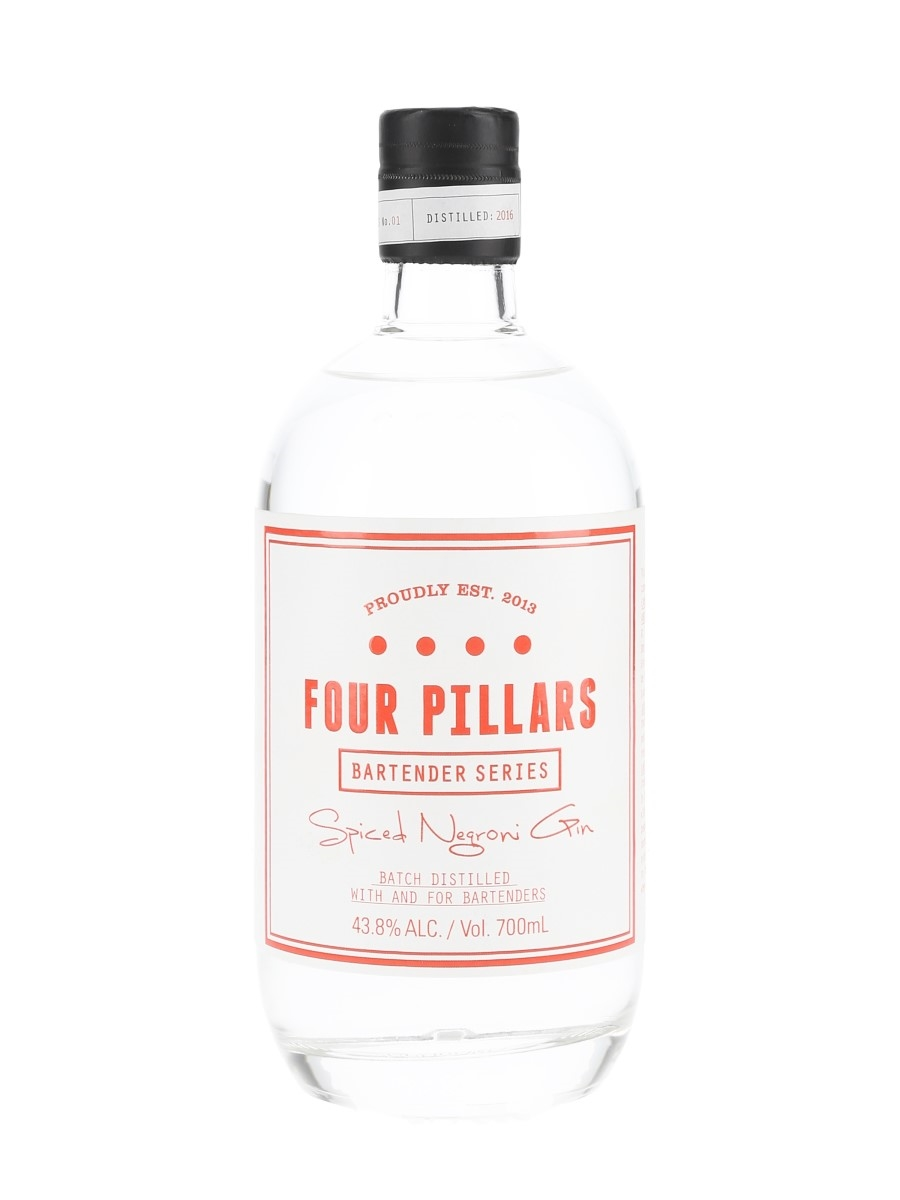 Four Pillars 2016 Spiced Negroni Gin Bartender Series No. 1 - Australia 70cl / 43.8%