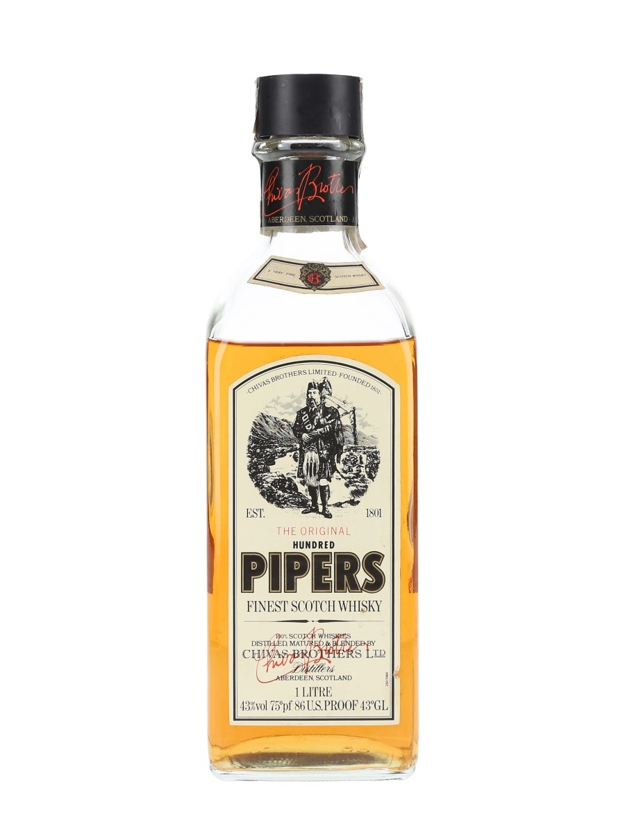 Chivas Brothers Hundred Pipers Bottled 1970s 100cl / 43%