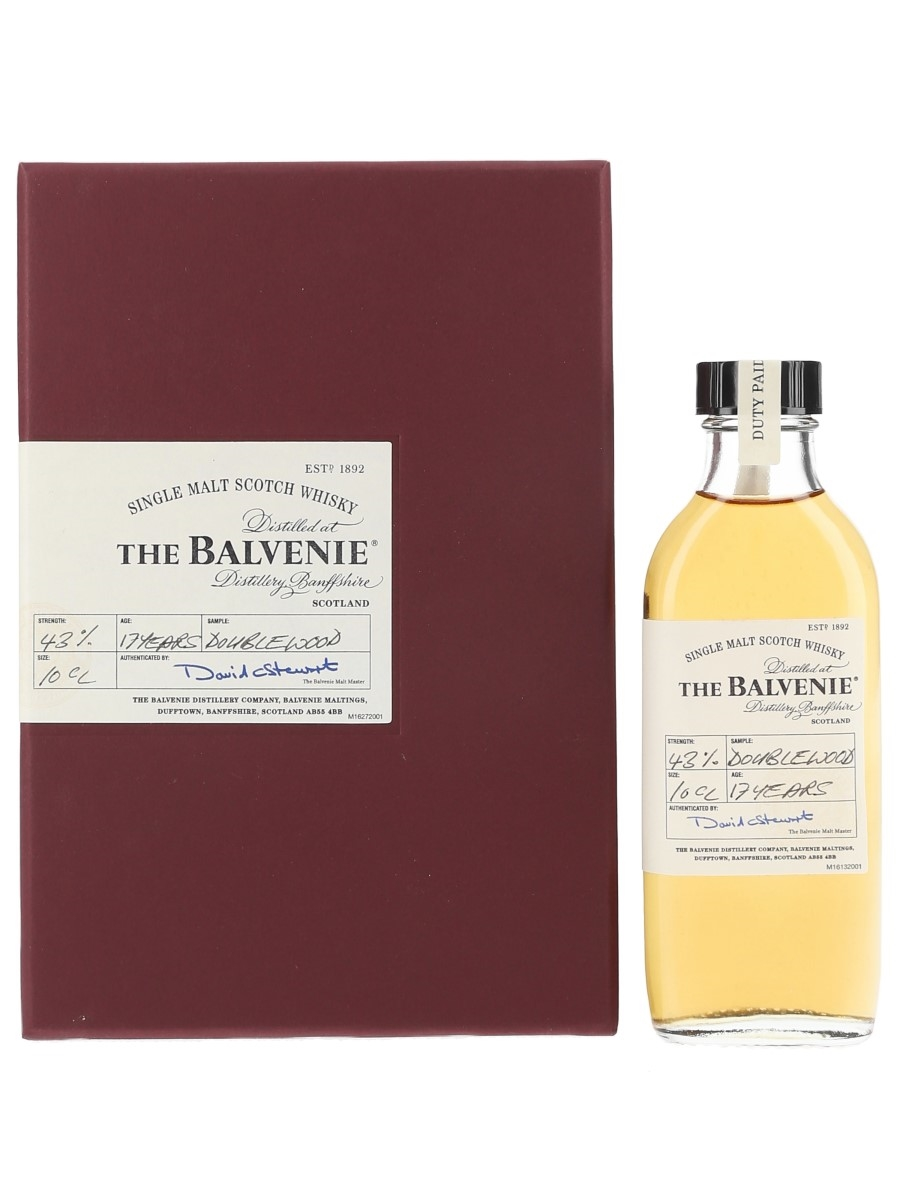 The Balvenie 17 Year Old Doublewood Trade Sample 10cl / 43%
