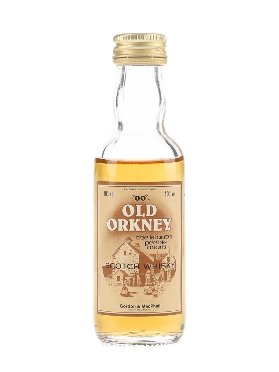 Old Orkney 'OO' Bottled 1980s - Gordon & MacPhail 5cl / 40%