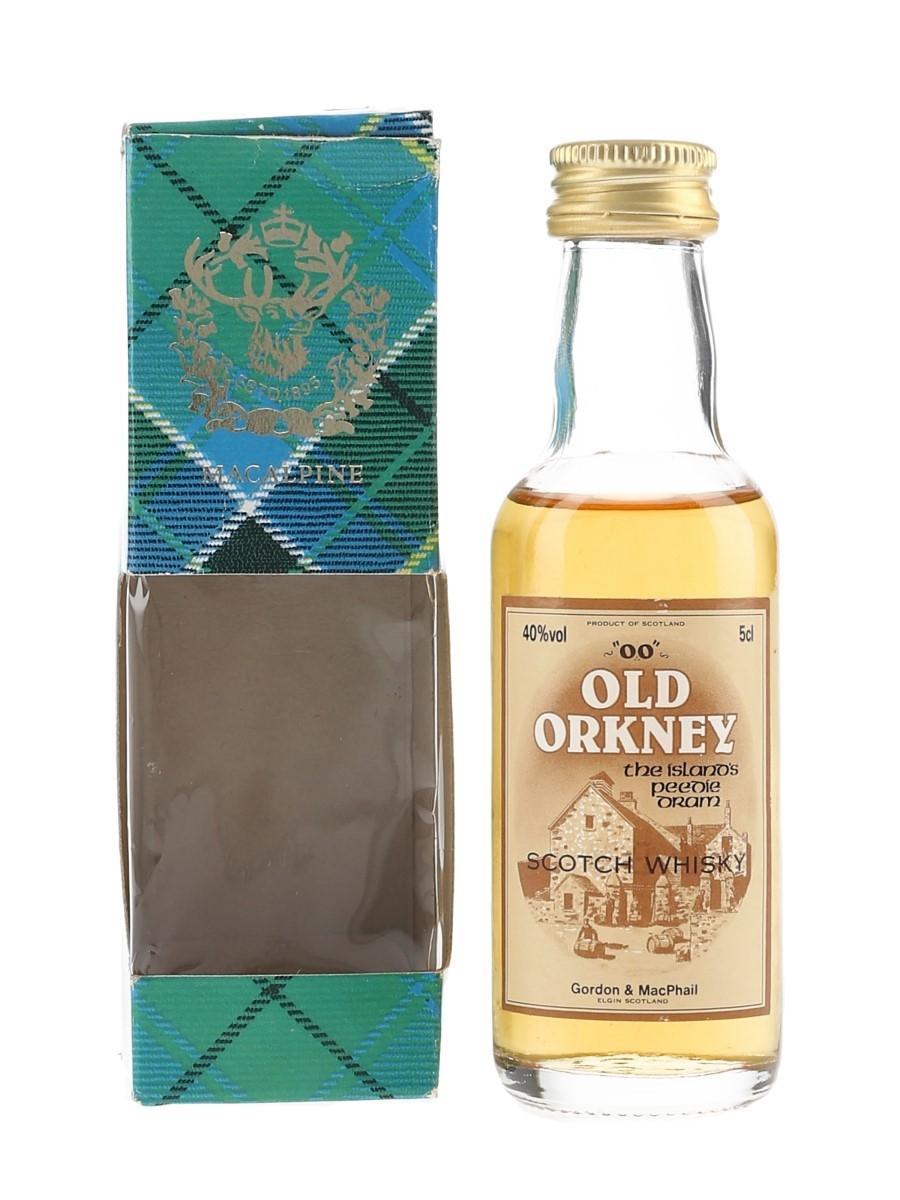 Old Orkney 'OO' Bottled 1990s - Gordon & MacPhail 5cl / 40%