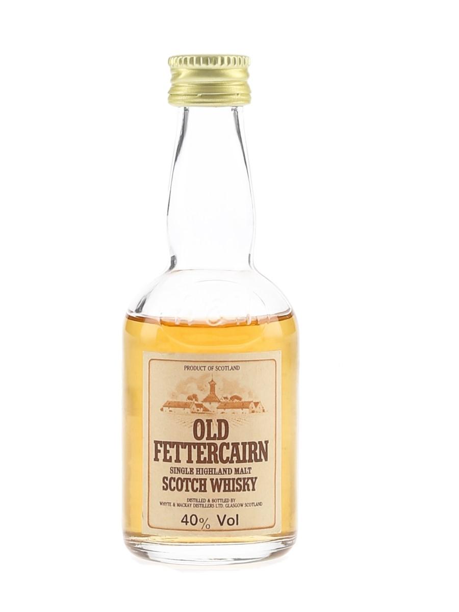 Old Fettercairn Bottled 1980s - Whyte & Mackay Distillers Ltd 5cl / 40%