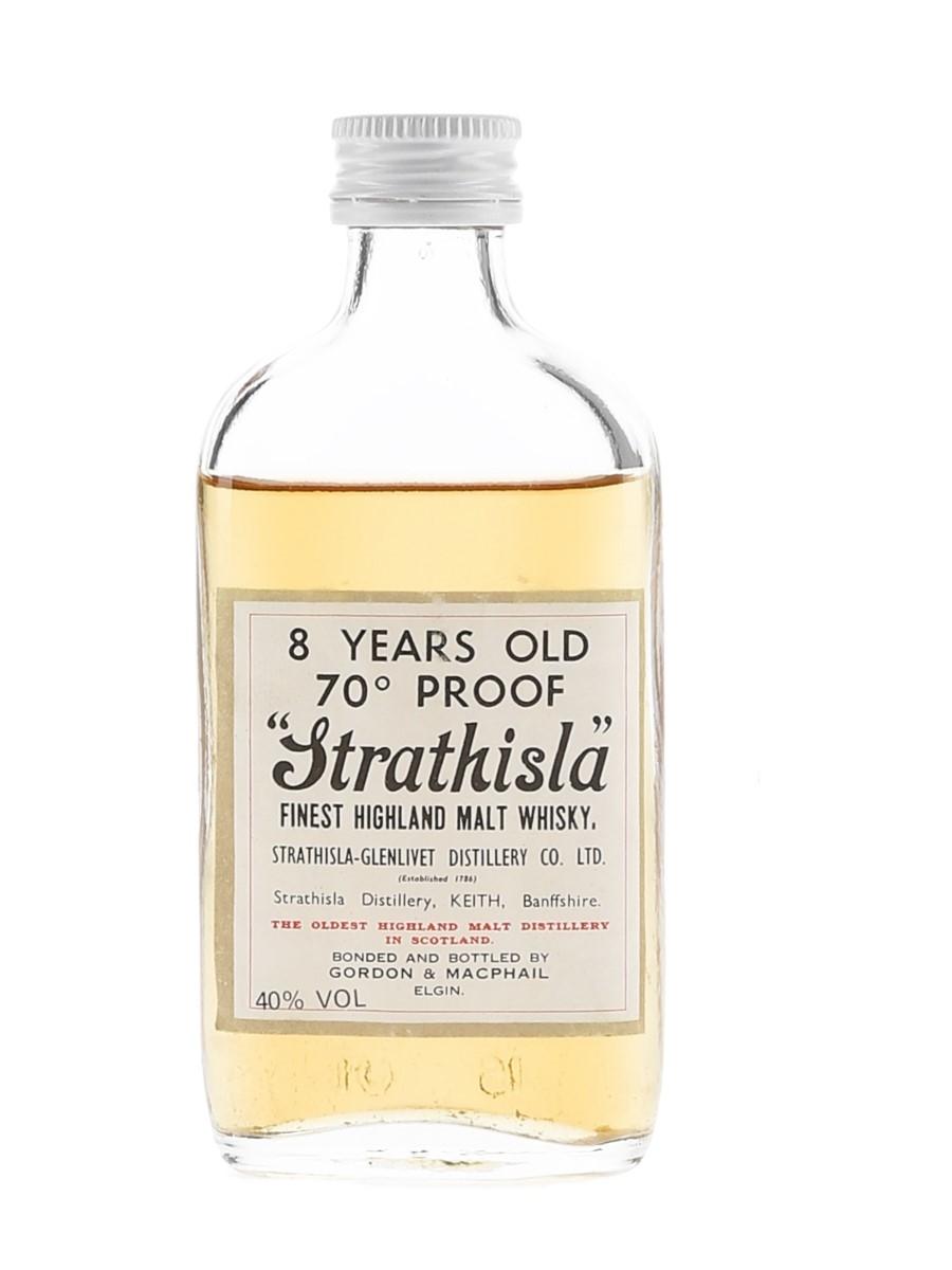 Strathisla 8 Year Old Bottled 1970s - Gordon & MacPhail 5cl / 40%