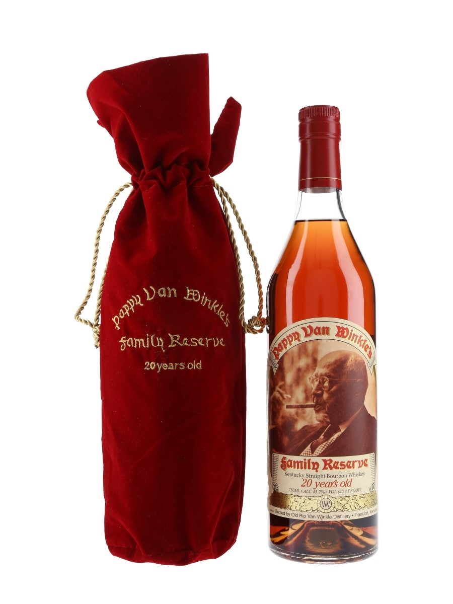 Pappy Van Winkle's 20 Year Old Family Reserve Bottled 2017 - Frankfort 75cl / 45.2%