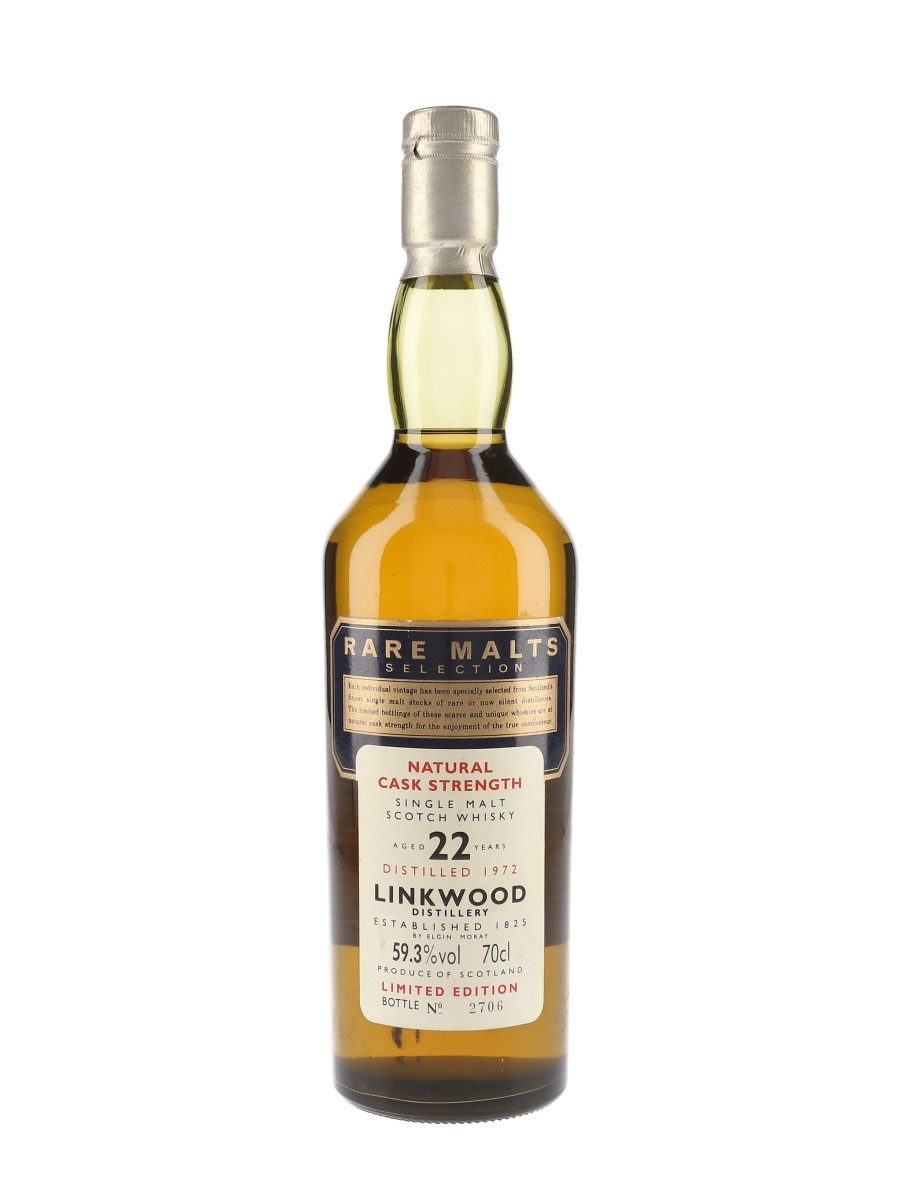 Linkwood 1972 22 Year Old Rare Malts Selection 70cl / 59.3%