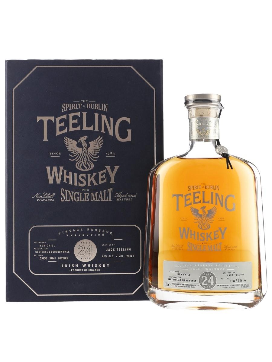 Teeling 1991 24 Year Old Bottled 2016 - Vintage Reserve Collection 70cl / 46%