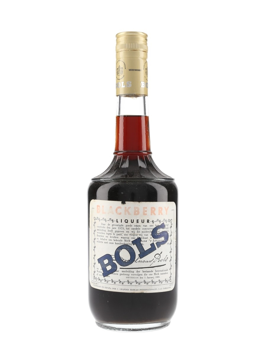 Bols Blackberry Liqueur Bottled 1980s - Tarragona 75cl / 30%