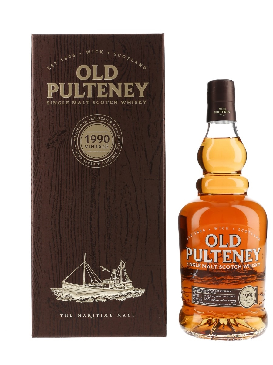 Old Pulteney 1990 26 Year Old  70cl / 46%
