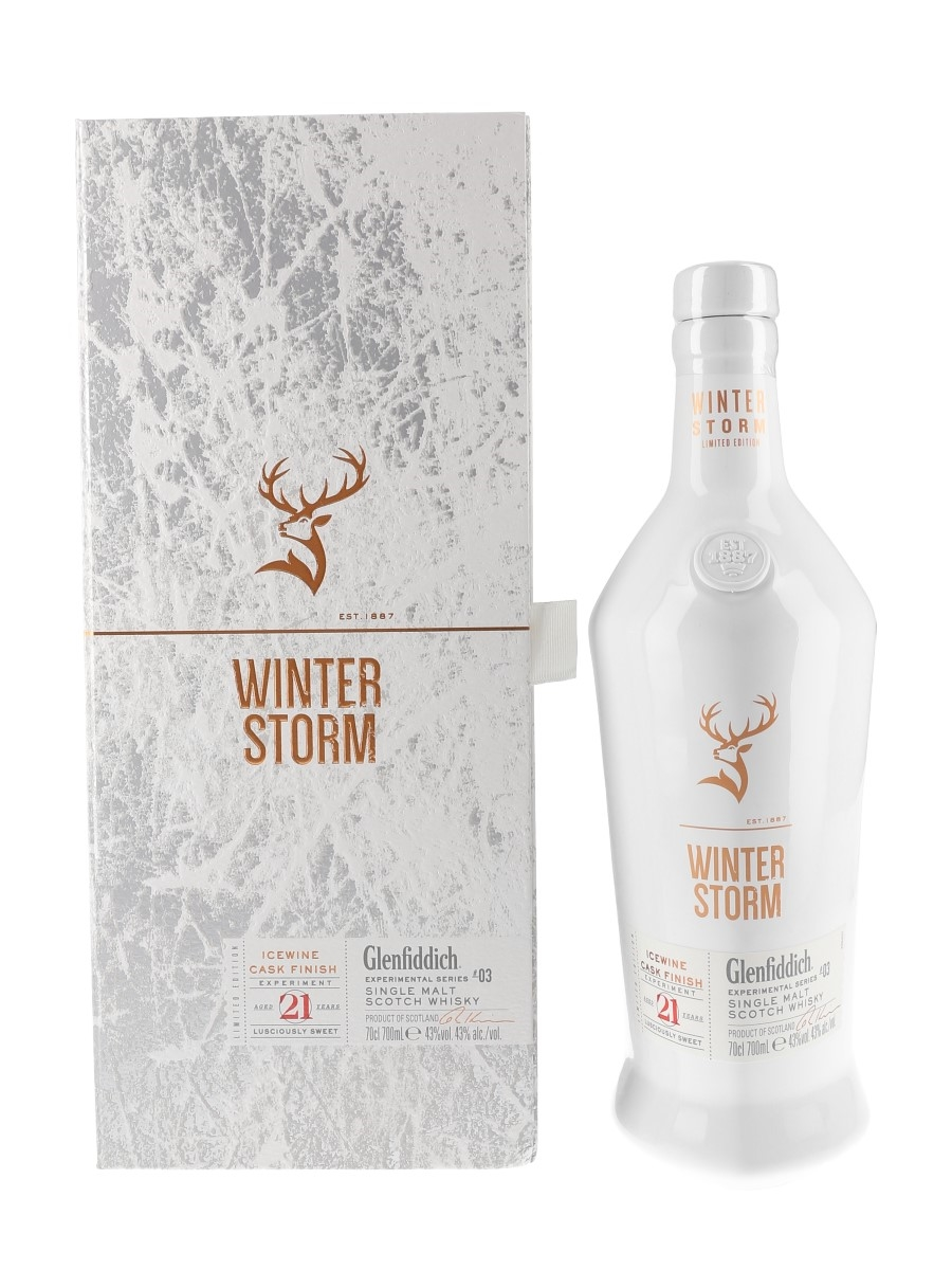 Glenfiddich 21 Year Old Winter Storm Batch 1 Icewine Cask Finish - Experimental Series #03 70cl / 43%