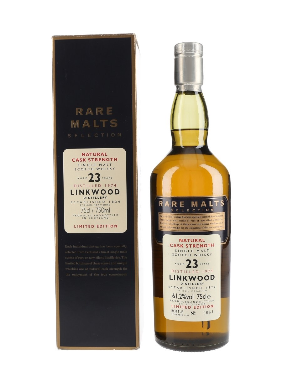 Linkwood 1974 23 Year Old Bottled 1997 - Rare Malts Selection 75cl / 61.2%