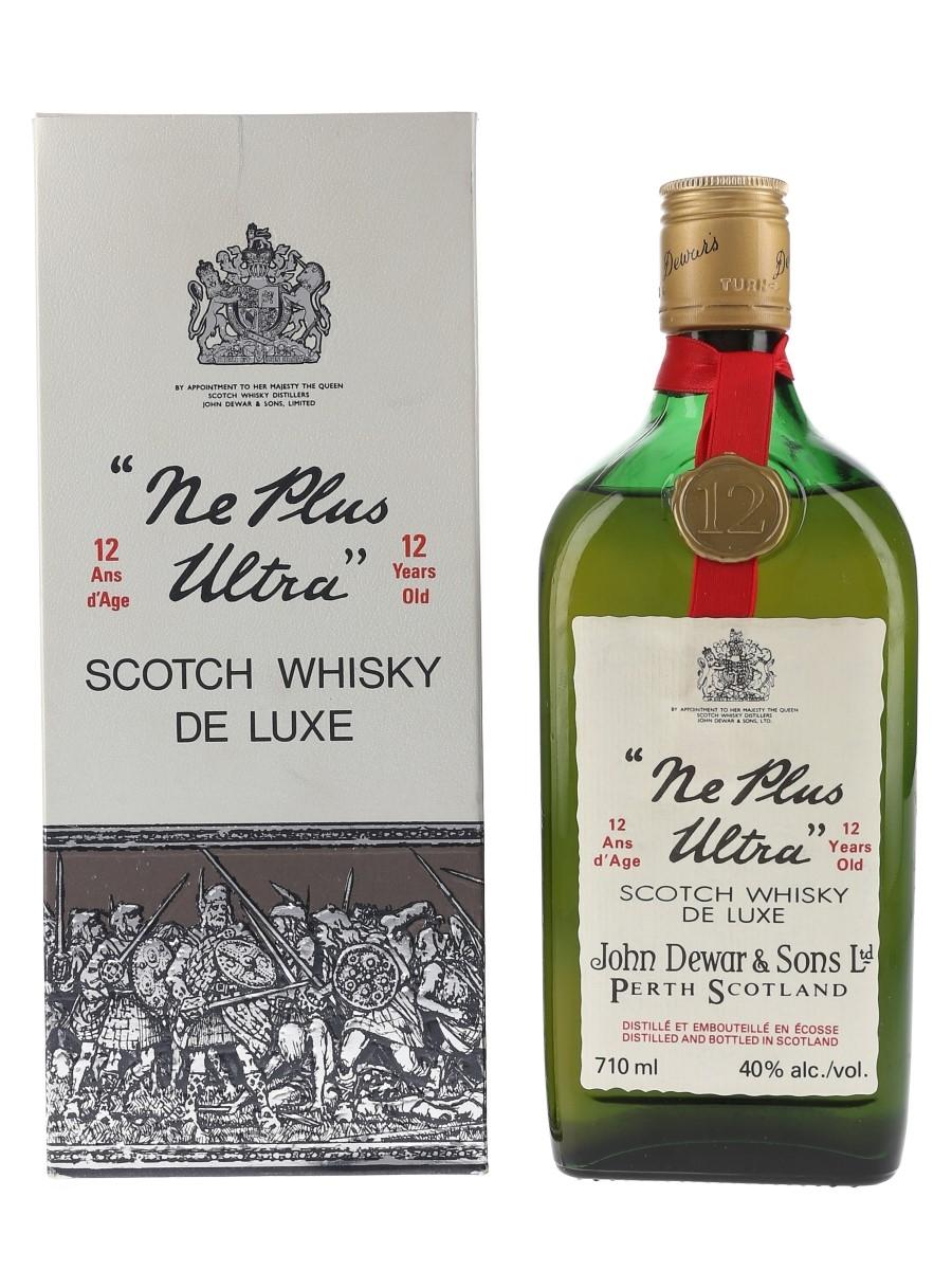 Dewar's Ne Plus Ultra 12 Year Old Bottled 1970s 71cl / 40%