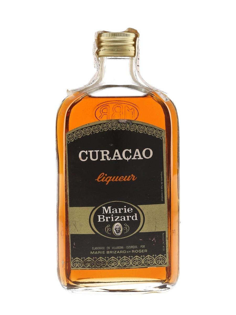 Marie Brizard Curacao Bottled 1960s-1970s 35cl