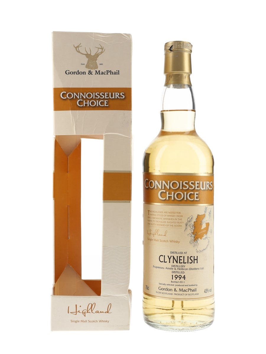 Clynelish 1994 Connoisseurs Choice Bottled 2011 - Gordon & MacPhail 70cl / 43%